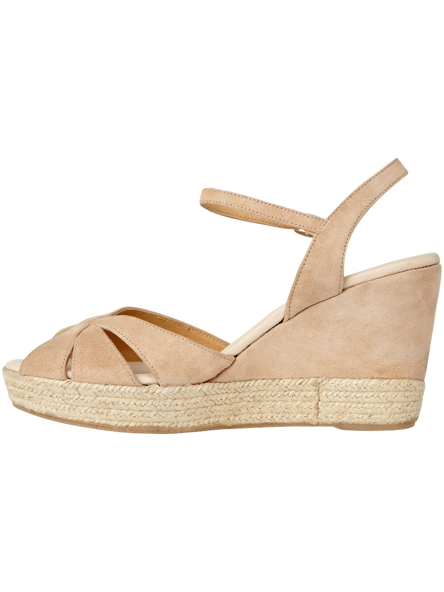 Dahlia espadrille wedge sandals