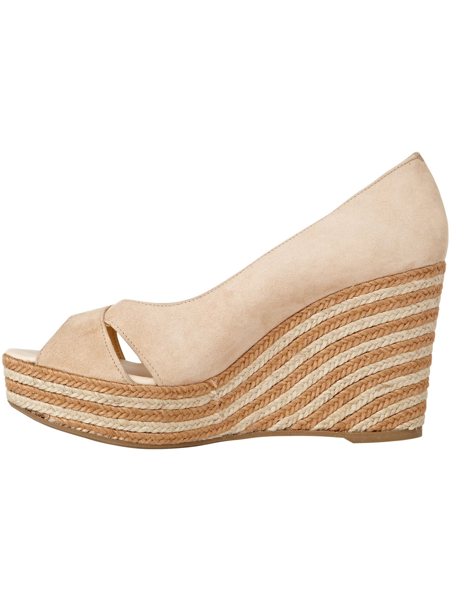 Jasmin espadrille wedge shoes