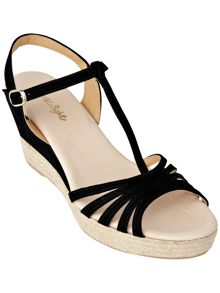 Phase Eight Lilian espadrille wedge sandals
