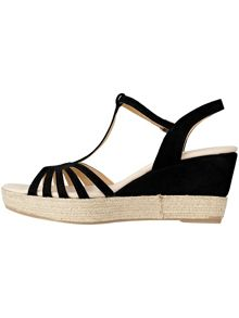 Lilian espadrille wedge sandals