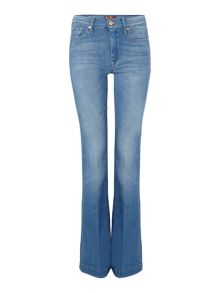 Charlize boot cut jean in bright blue