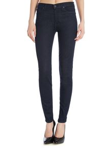 The skinny high waisted jeans in boston deep