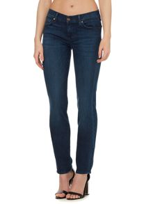 Roxanne slim jeans in malibu blue