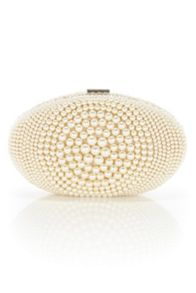 Paloma pearl clutch