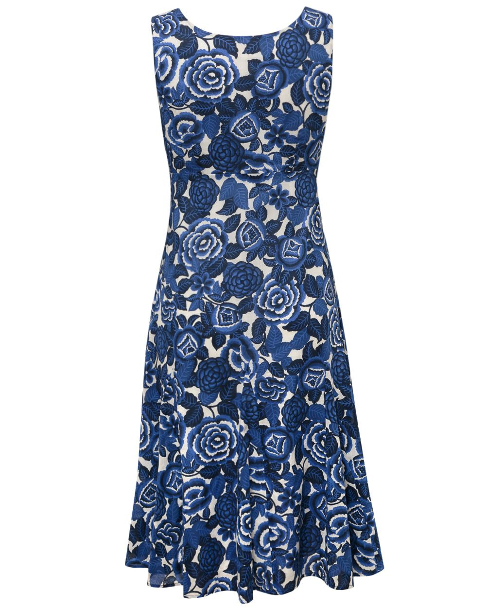 Marlene Print Cotton Dress