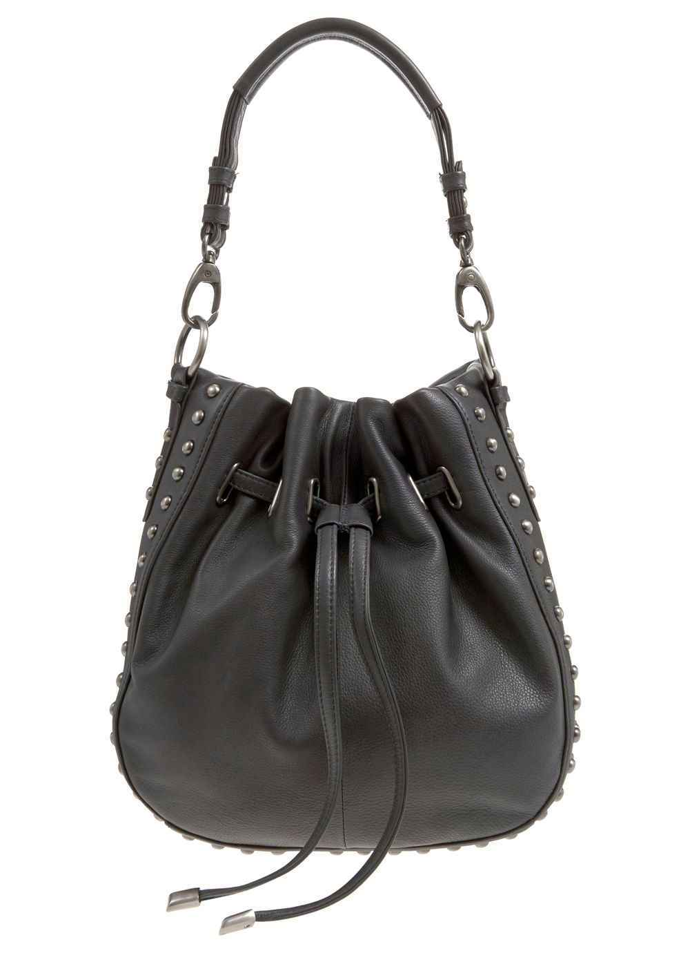 Charcoal Gemma Duffle Bag