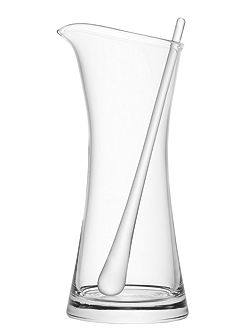 Bar Cocktail Jug & Stirrer 1.2L Clear