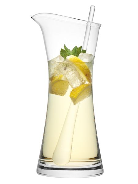 LSA Bar Cocktail Jug & Stirrer 1.2L Clear