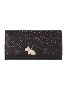 Right as rain black large flap over purse