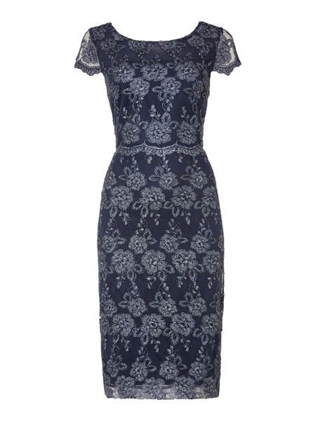 Shubette All over lurex lace dress