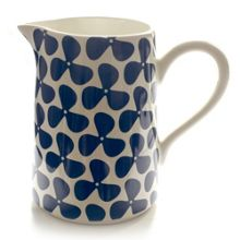 Helice Large Jug - navy