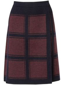 Kirstie check skirt