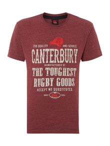 Canterbury toughest graphic t-shirt