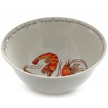 Deep Salad Bowl 150mm - Shrimp