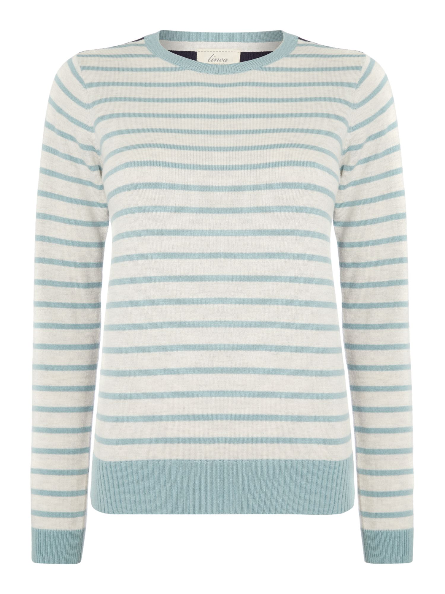 3 colour stripe jumper