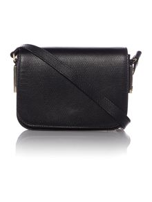Melia black cross body bag