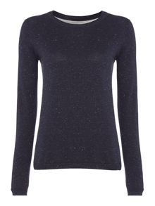 Plain lurex jumper