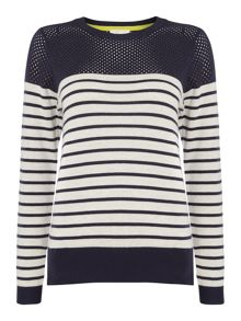 Linea Weekend Stripe crew neck jumper
