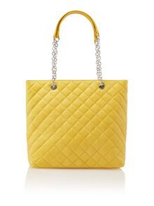 marina quilted tote