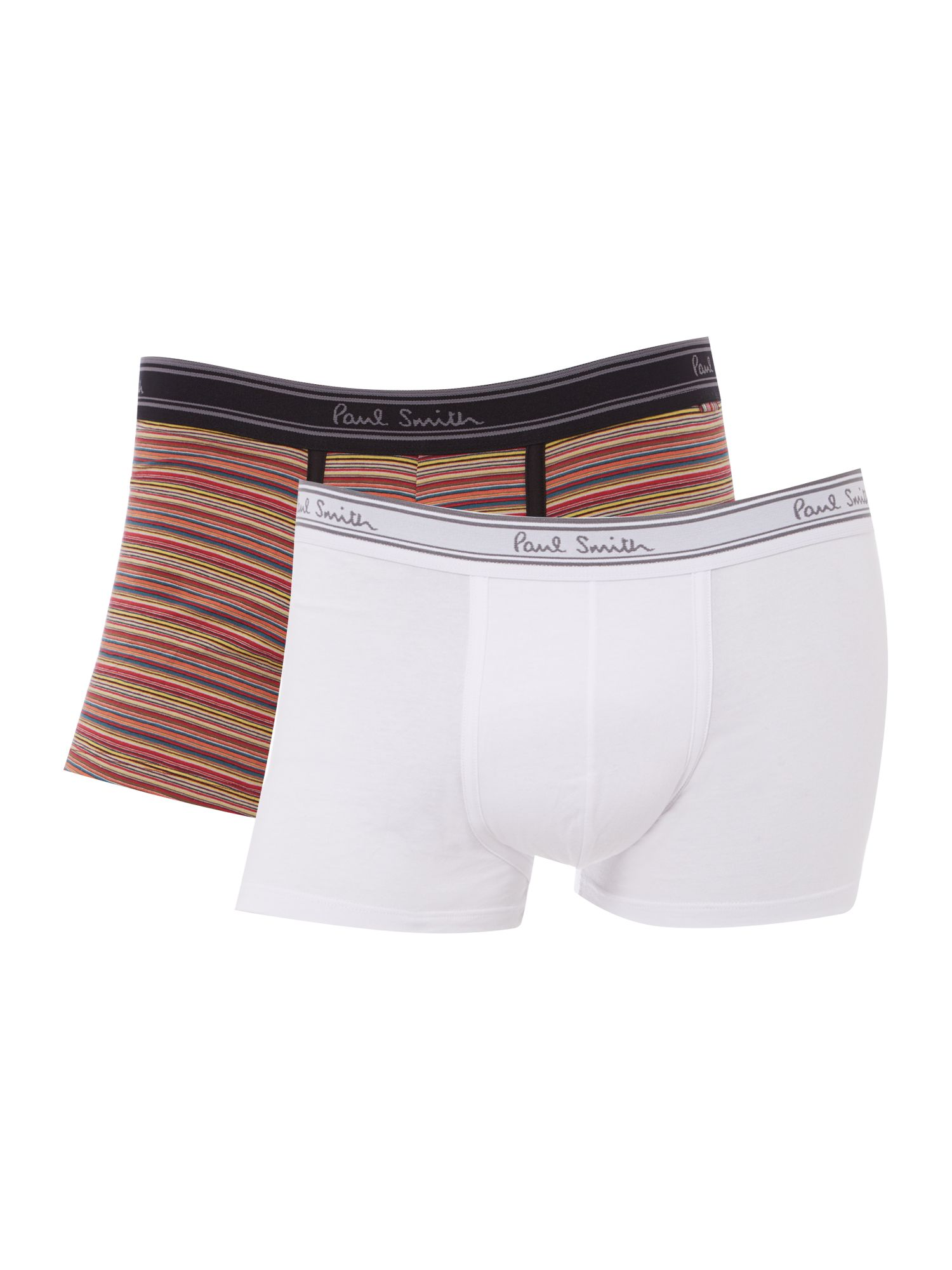 2 pack multistripe and plain trunk