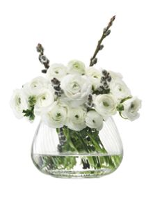 Flower Texture Table Arrangement Vase Twist Optic