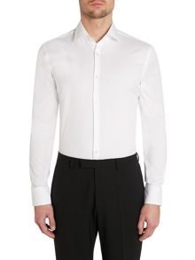 Jenno slim solid shirt