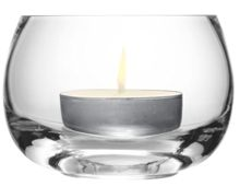 LSA Light Tealight Holder H8cm Clear
