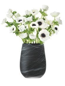 Silk Vase range in Black