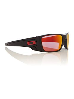 Men`s ruby iridium rectangular sunglasses