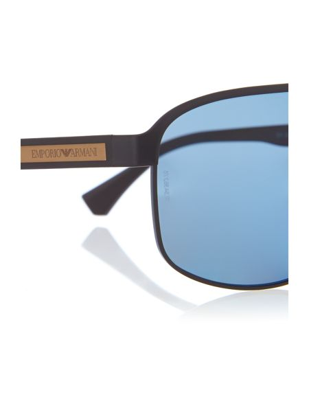Emporio Armani 0EA2025  Rectangular Sunglasses