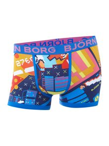 Ascii pattern single underwear trunk