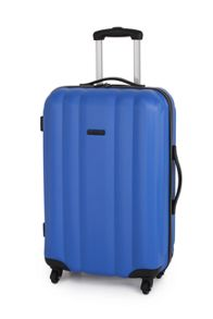 Linea Odel blue 4 wheel hard medium spinner