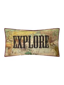 Antique Map Cushion