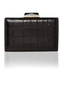 Fashion box clutch bag