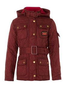 Girls Viper 4 pocket quilted jacket