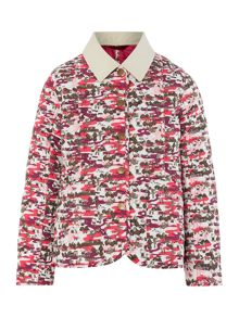 Girls quilted Hello Kitty print jacket