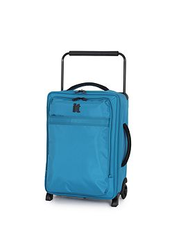 Aqua 2 wheel soft cabin suitcase