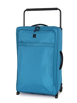 Aqua 2 wheel soft large suitcase