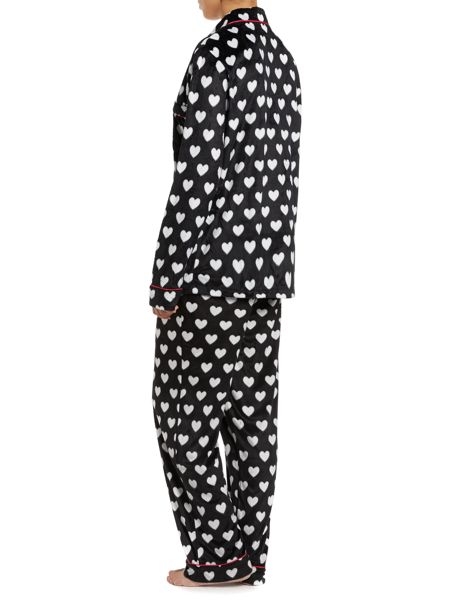 DKNY Long sleeved fleece pyjama set
