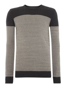 Slim fit knit pullover