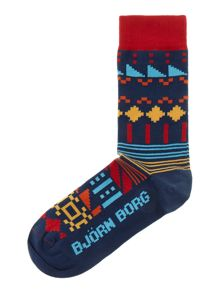 Back to the future sock
