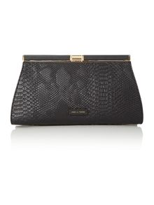 Mia frame clutch bag