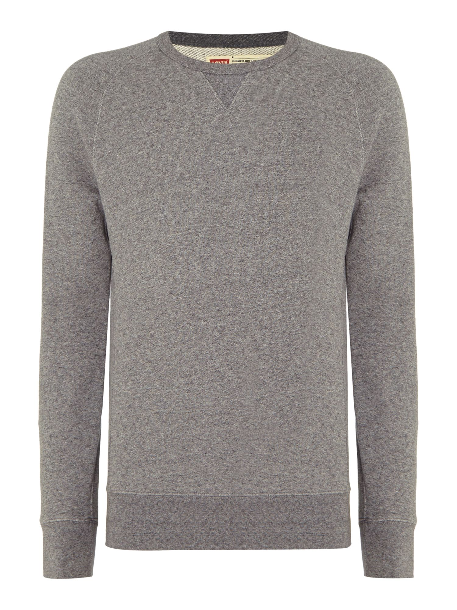 Men's Levi's Crew neck sweatshirt, Grey
