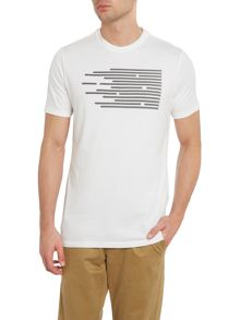 Commuter Drop Hem Graphic T Shirt