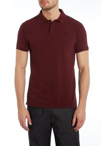 Classic garment dyed pique polo