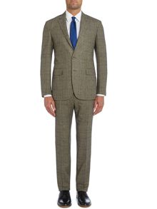 Polo1 Prince of Wales Check slim fit suit