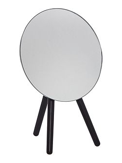 Black tripod mirror
