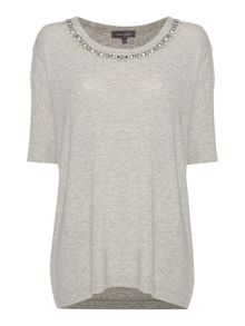 Lexi Easy Tee Jewelled