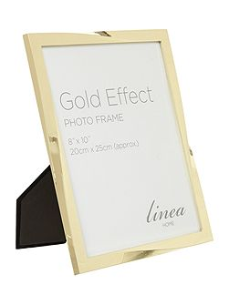 Gold Effect Twist Design Photo Frame 8x10
