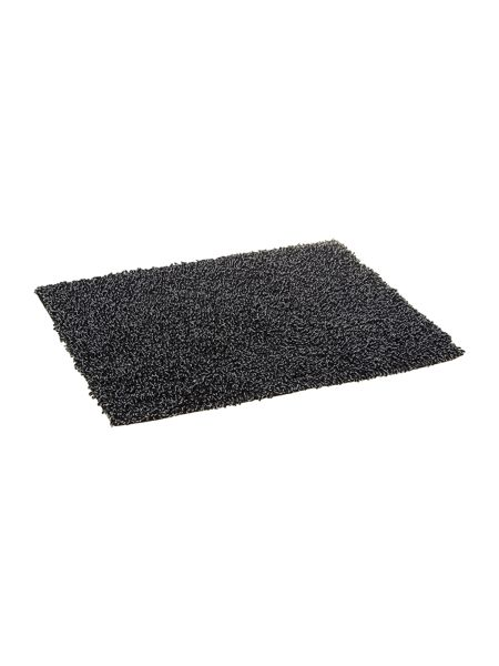Linea Black & White Speck Bath Mat